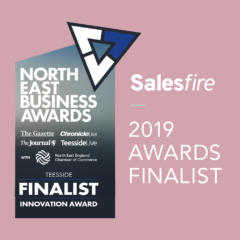 Salesfire | Salesfire Shortlisted for 2 North East Business